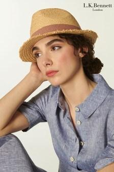 L.K Bennett Daisy Fedora Opt Hat
