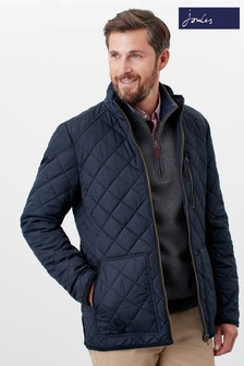 Joules Blue Derwent Quilted Jacket