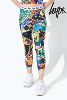 Hype. Green Universal Monsters Ripped Monster Kids Leggings