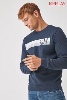 Replay Navy Sweater