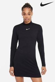 Nike Swoosh Long Sleeve Dress