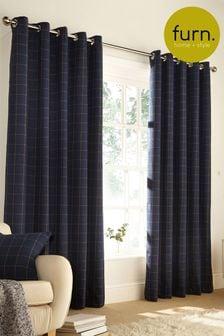 Ellis Eyelet Curtains by Furn