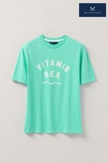 Crew Clothing Company Green Holiday Shop T-Shirt