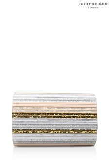Kurt Geiger London Nude Party Envelope Clutch