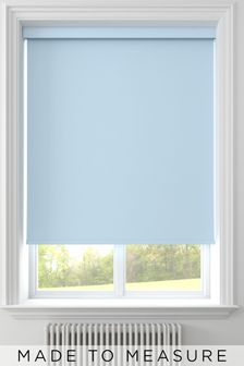 Mineral Blue Syson Made To Measure Roller Blind