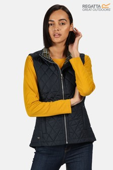 Regatta Blue Charna Quilted Bodywarmer