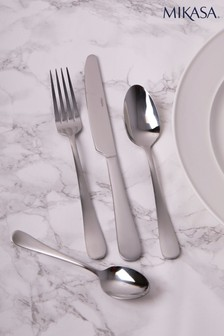 16 Piece Mikasa Satin Cutlery Set