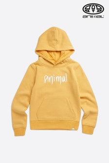 Animal Golden Glow Yellow Marl Rachelle Hoody