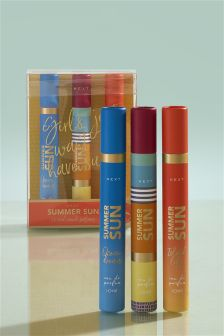 Set of 3 Summer Sun 10ml Eau De Parfum