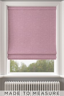 Jameson Hibiscus Pink Made To Measure Roman Blind