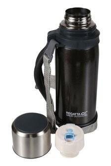 Regatta Black 1.2L Vacuum Flask With Handle