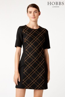 Hobbs Black Mari Dress