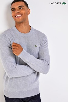 Lacoste® Cotton Crew Jumper