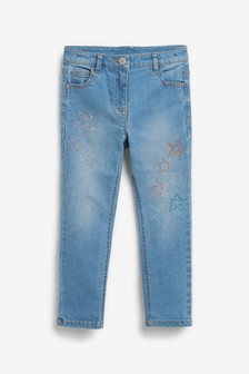 Heatseal Star Skinny Jeans (3-16yrs)