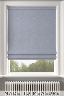 Jameson Navy Blue Made To Measure Roman Blind
