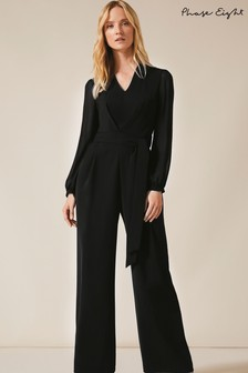 Phase Eight Black Audrey Jumpsuit