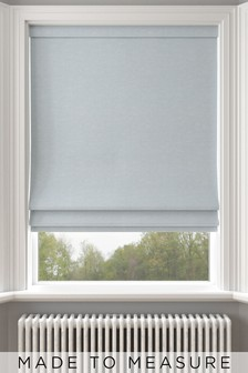 Jameson Sky Blue Made To Measure Roman Blind