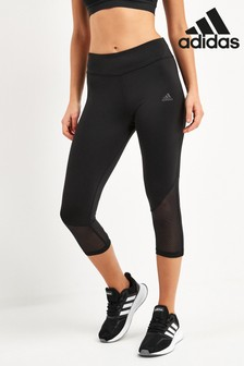 adidas Black Own The Run Capri Leggings