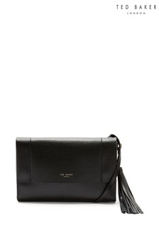 Ted Baker Black Natalei Leather Cross Body Bag