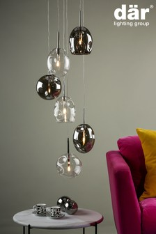 Dar Lighting Quinn 6 Light Pendant