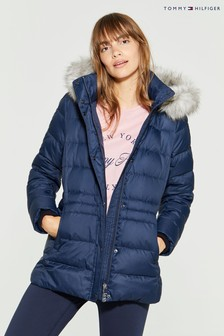 Tommy Hilfiger Blue New Tyra Down Jacket