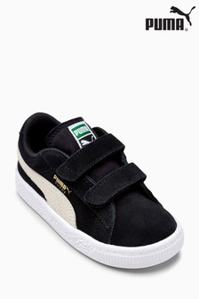 Puma® Infant Black Suede Classic Trainer