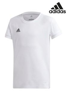 adidas White Training T-Shirt