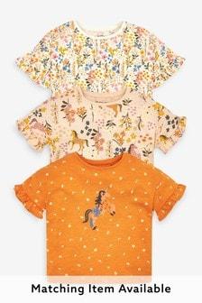 3 Pack Unicorn T-Shirts (3mths-7yrs)
