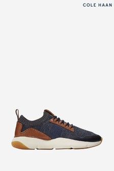 Cole Haan Blue Zerogrand All-Day Stitchlite Slip-On Trainers