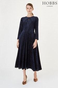 Hobbs Black Neva Dress