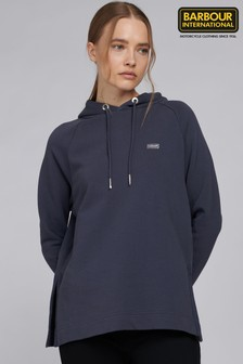 Barbour® International Longline Relaxed Fit Sugo Hoodie