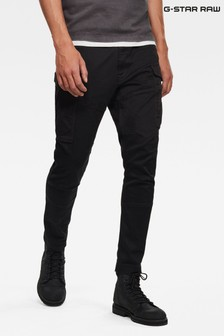G-Star Black Rovic Slim Trousers