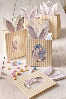 5 Pack Easter Treat Bags