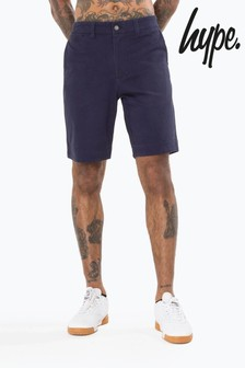 Hype. Blue Core Chino Shorts
