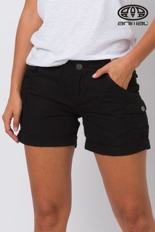Animal Black Tomboy Reload Wovan Walk Shorts