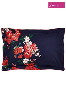 Joules Beau Floral Cotton Pillowcase