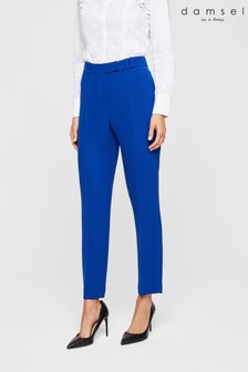 Damsel In A Dress Blue City Tapered Trousers