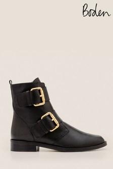 Boden Black Cavenham Ankle Boots