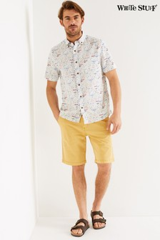 White Stuff Yellow Portland Organic Chino Shorts