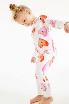 Pyžamo so srdiečkami (9 mes. – 12 rok.)