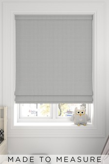 Melrose Dove Grey Made To Measure Roman Blind