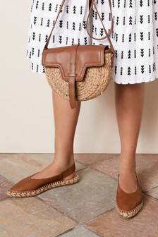 Espadrille Slingback Shoes