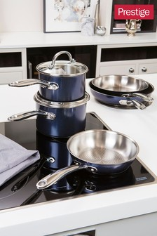 Prestige Optisteel Frypan And Saucepan Set