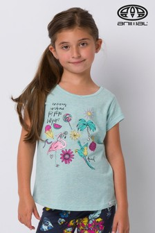 Animal Green Flossie Graphic T-Shirt