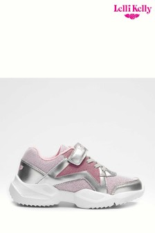 Lelli Kelly Pink Paola Chunky Trainers