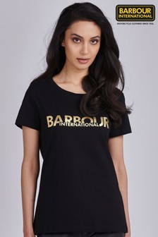 Barbour® International Metallic Logo Delta T-Shirt