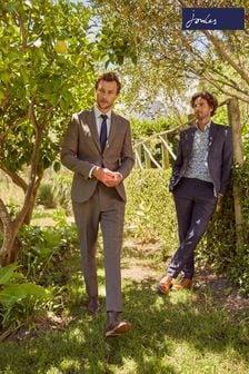 Slim Fit Joules Wool/Linen Suit