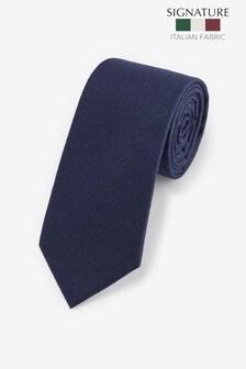 Signature Barberis Wool Tie
