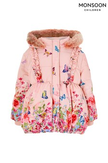 Monsoon Baby Slyvie Border Coat