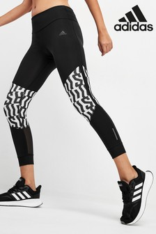 adidas Own The Run Leggings mit Grafikdesign